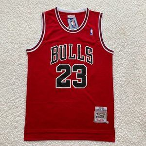 Michael Jordan Chicago Bulls NBA Basketball Jersey